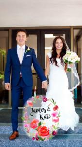 Géo-filtre événement particulier mariage