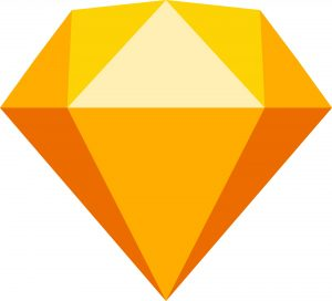 Logo-Sketch-orange-diamond-nouvel-outil-prototypage-webdesigner-digital