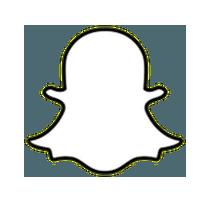 Snapchat ghost logo icône