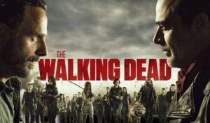"""Promotion saison 8 """"The Walking Dead"""" filtre sponsorisé opération commerciale"""