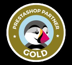 Logo PrestaShop Partner Gold