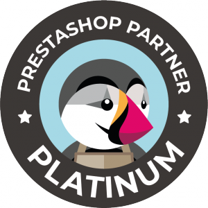 Badge PrestaShop Partner Platinum