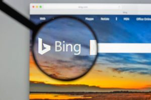 visibilité web sur bing