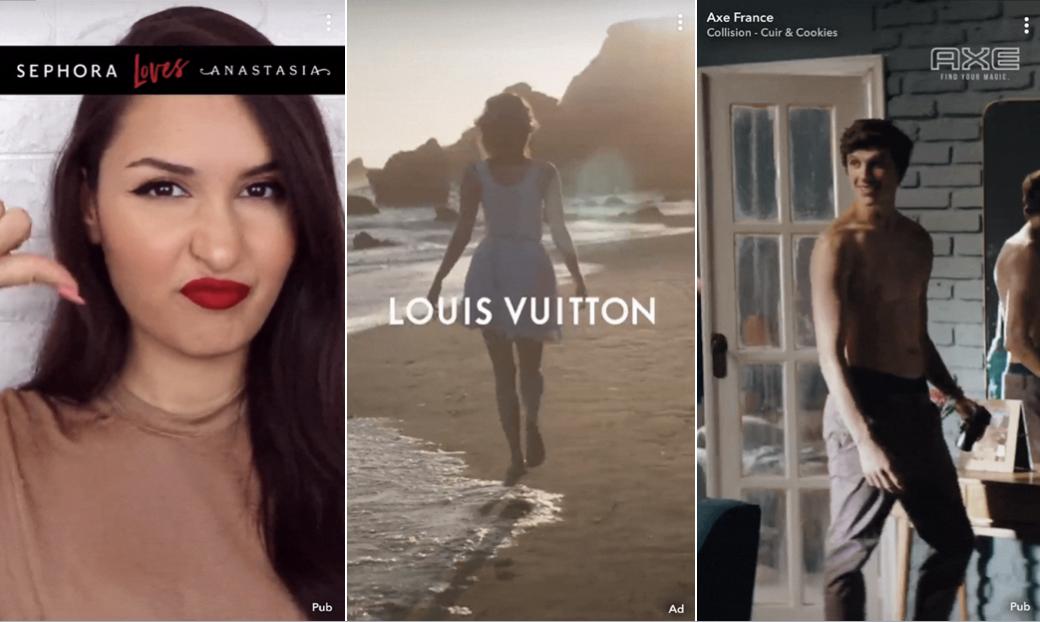 Présentation Commercials de Snapchat