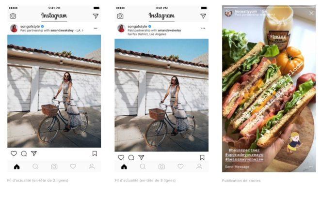 Branded Content Ads - nouveau format publicitaire Instagram