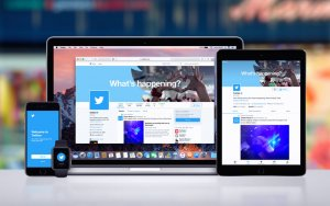 Twitter on mobile, desktop