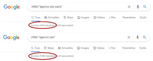 commande google intitle